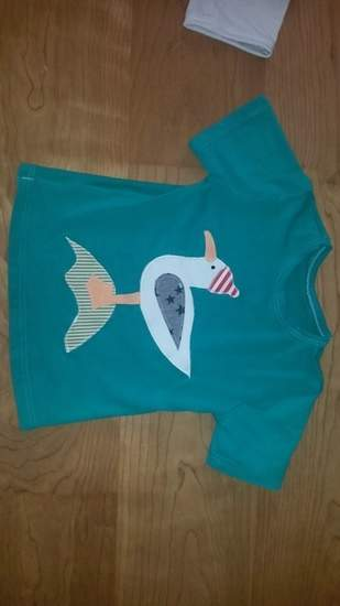Makerist - Upcycling T-Shirt Möwe - 1