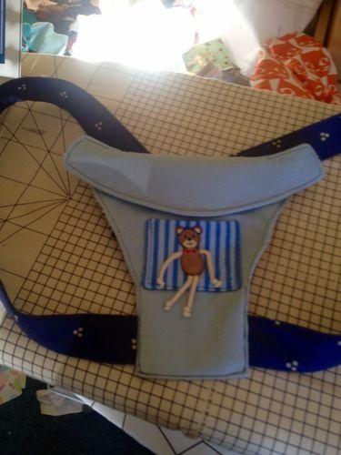 Makerist - Puppentrage für einen kleinen Jungen  - Nähprojekte - 1