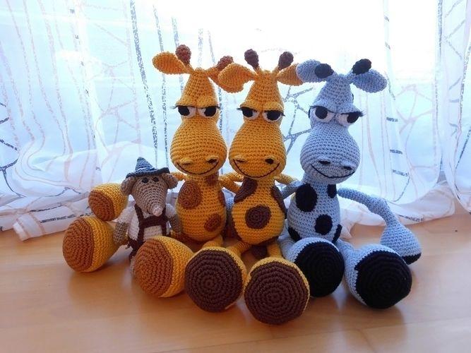 Makerist - Giraffenparade!!!  - Häkelprojekte - 1