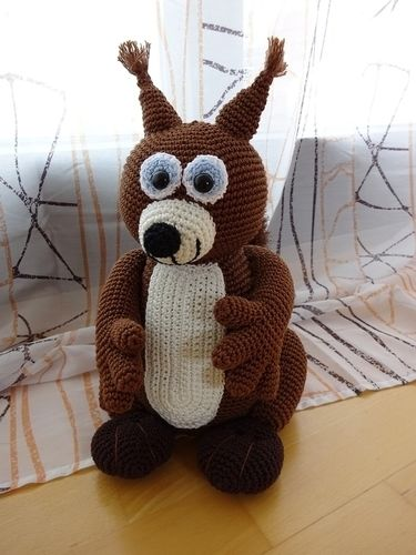 Makerist - Knuddeliges Eichhörnchen - Häkelprojekte - 1