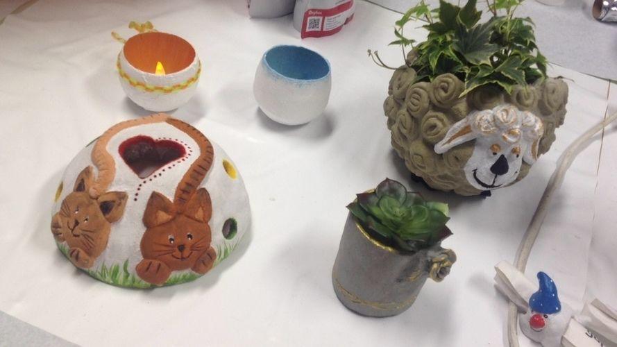 Makerist - Einige Werke aus Knetbeton - DIY-Projekte - 2