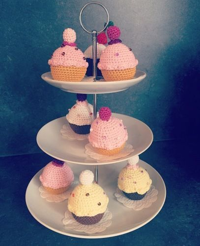 Makerist - Cupcakes  - Häkelprojekte - 1