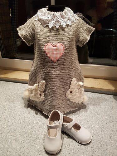 Makerist - Häschenkleid - Häkelprojekte - 1