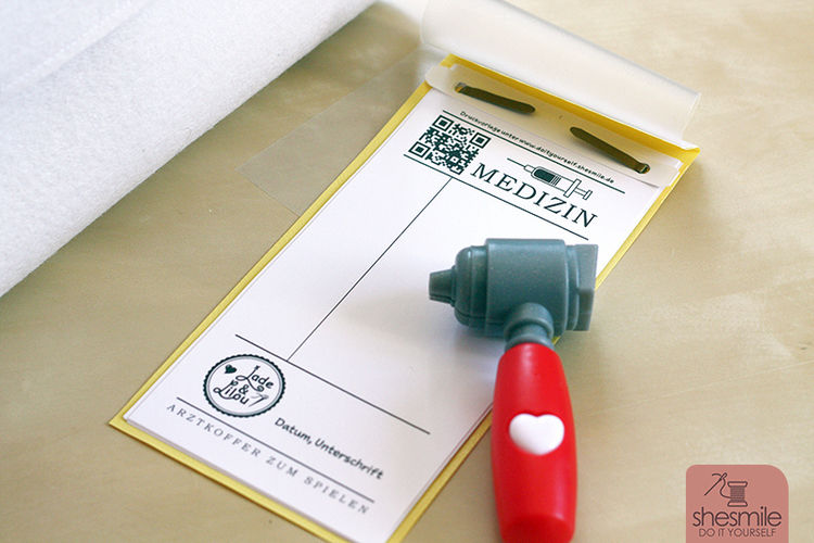 Makerist - Arztkoffer aus Filz - Nähprojekte - 3