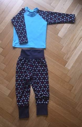 Makerist - 👶🏼 Maritime Pumphose und Raglan Shirt - 1