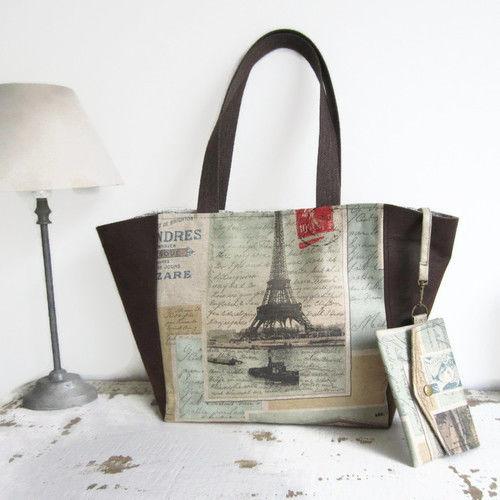 Makerist - Le sac cabas Clara - Créations de couture - 1