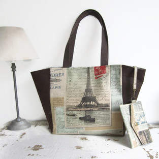 Makerist - Le sac cabas Clara - 1