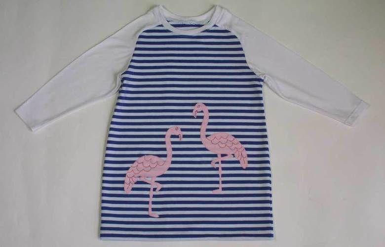 Makerist - Longshirt mit Flamingos - Nähprojekte - 1