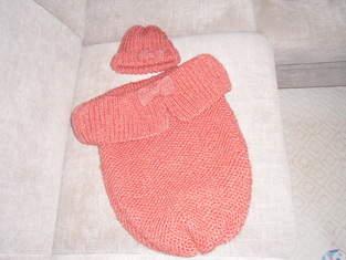 Makerist - Babycocoon mit Mützchen  - 1