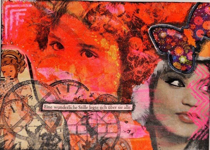 Makerist - Postkarte Mixed Media - DIY-Projekte - 1