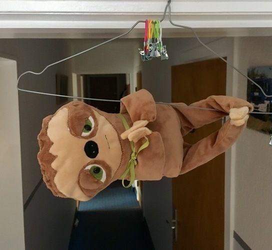 Makerist - Faultierbaby aus Microfaserplüsch - einfach mal für mich genäht :-) - Nähprojekte - 1