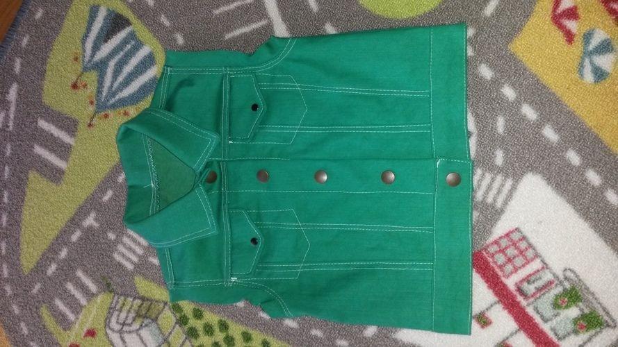 Makerist - Jeansweste für meinen Sohn - Nähprojekte - 1
