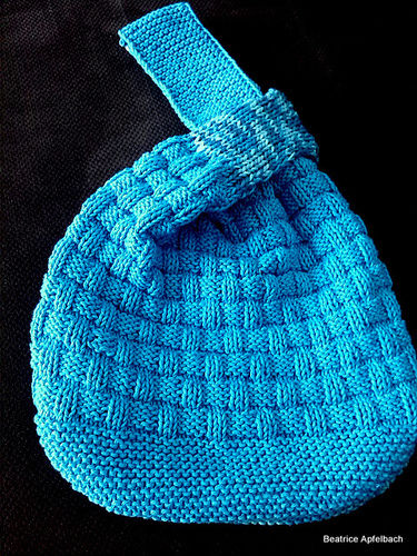 Makerist - Japanische Knotentasche - Strickprojekte - 3