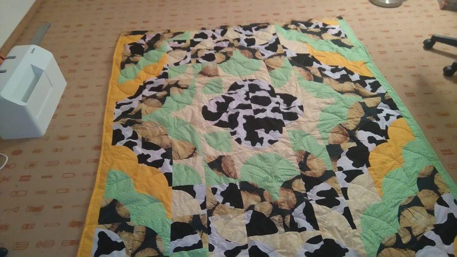 Makerist - DECKE für meinen Sohn  - Patchwork-Projekte - 2