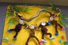 Makerist - Die Affen sind los: Lustiges Bild fürs Kinderzimmer - 1