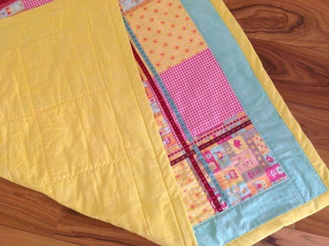Makerist - meine erste Baby-Patchworkkrabbeldecke für einen neuen Erdenbürger  - Nähprojekte - 3