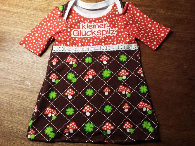 Makerist - süßes Glückspilz Sommer-Kleidchen - Nähprojekte - 1