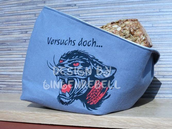 Makerist - Auswaschbares Utensilo als Brotkörbchen - Textilgestaltung - 1