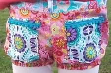 Makerist - Kunterbunte Shorts - 1