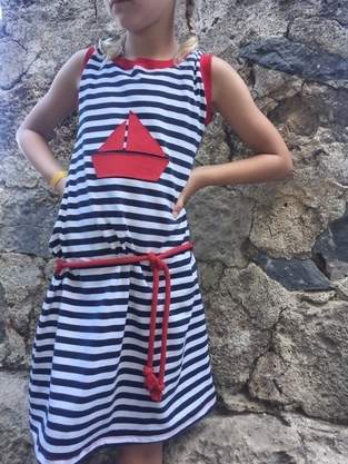 Makerist - sportliches Kleid für Kids - 1