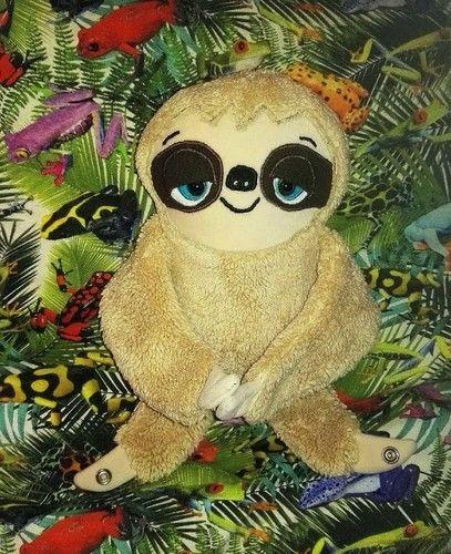 Makerist - Unser Faultier Lazy lebt im Urwald u. unter Fröschen fühlt es sich puddel wohl 😊 - Nähprojekte - 1