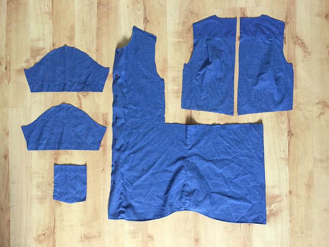 Makerist - einfaches Kinderkleid aus einem Herrenhemd - Nähprojekte - 2