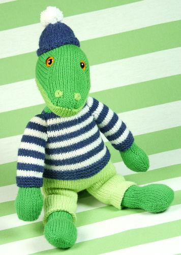 Makerist - Cord, das liebenswerte Krokodil - Strickprojekte - 1