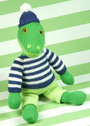 Makerist - Cord, das liebenswerte Krokodil - 1