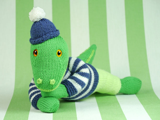 Makerist - Cord, das liebenswerte Krokodil - Strickprojekte - 3
