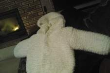 Makerist - petit manteau en phil douce de chez phildar - 1