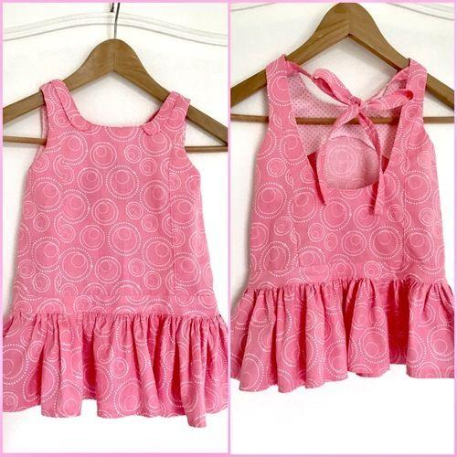 Makerist - Brunette, robe été fillette 3 ans - Créations de couture - 1