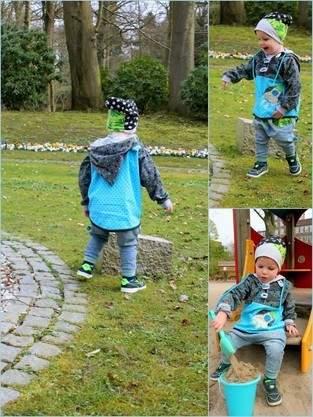Makerist - Weltraum- Schlupfjacke nach Lumali's Schnitt aus Cordstoff für meinen Junior - 1