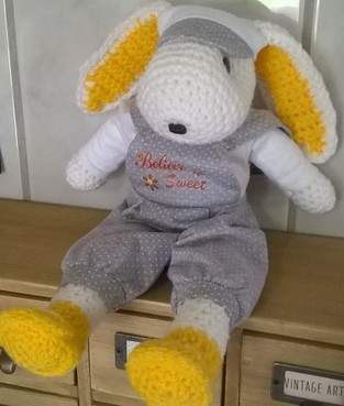 Makerist - Sweet le lapin au crochet  - 1