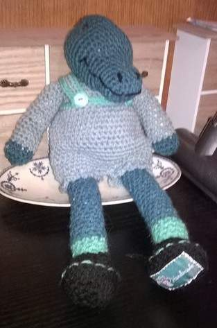 Makerist - Steve le crocodile au crochet  - 1