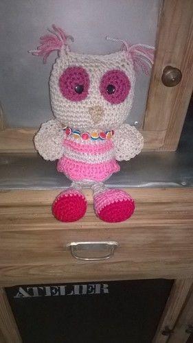 Makerist - Melle Lola la chouette au crochet  - Créations de crochet - 1