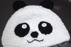 Makerist - Bonnet Panda - 1