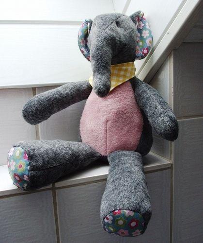 """Makerist - Elefant """"Kumi"""" - Nähprojekte - 1"""