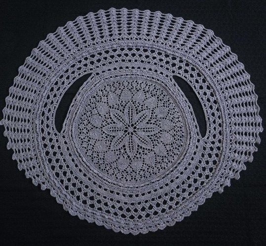 Makerist - kreisGILET Vintage Lila - Strickprojekte - 2