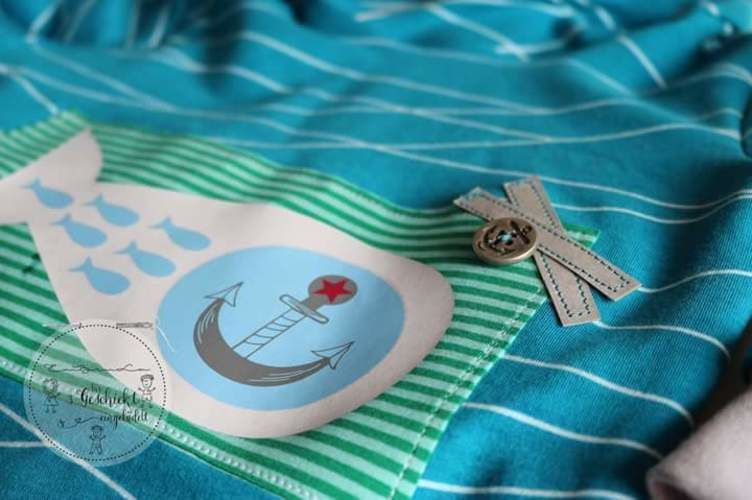 Makerist - Für den Anglerfisch  - Textilgestaltung - 1
