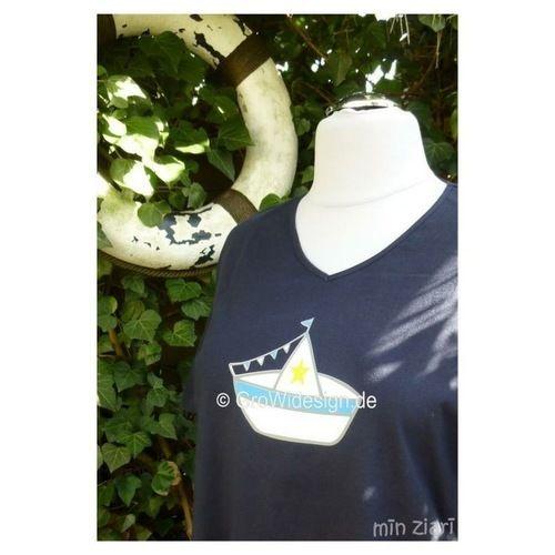 Makerist - Shirt maritim - Textilgestaltung - 1