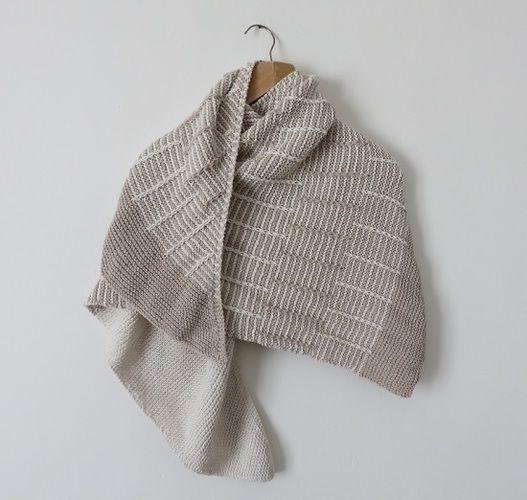 Makerist - Châle Avant l'orage - Créations de tricot - 1