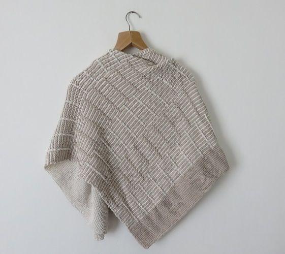 Makerist - Châle Avant l'orage - Créations de tricot - 3