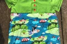 Makerist - Sommershirt mit Knopfleiste - 1