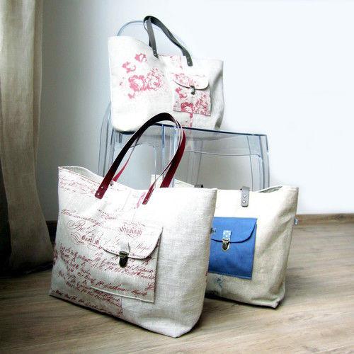 Makerist - Sac cabas Mary - Créations de couture - 3