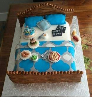 Makerist - Bett Torte - 1