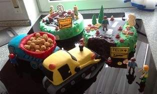 Makerist - Baustellen Torte - 1