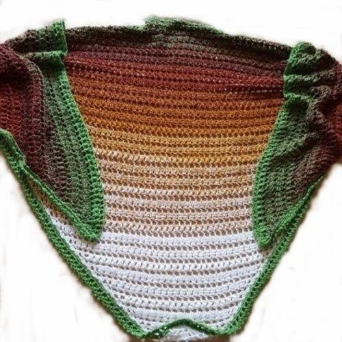 Makerist - Dreieckstuch Herbstwind für Damen - Häkelprojekte - 1