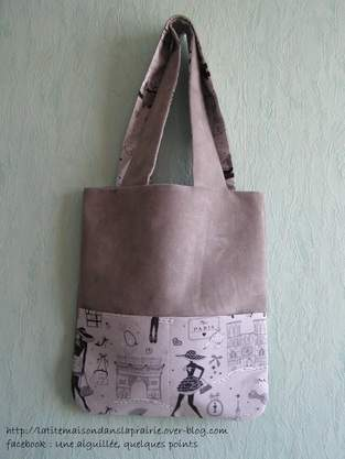 Makerist - Tote bag beige - 1