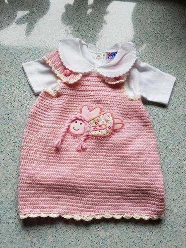 Makerist - Kleidchen, rosa - Häkelprojekte - 1