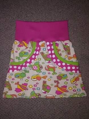 Makerist - Sommerrock für Mini Mädels - 1
